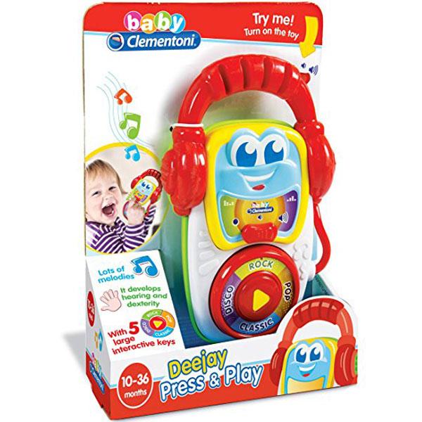 Baby Deejay Clementoni CL17112 - ODDO igračke