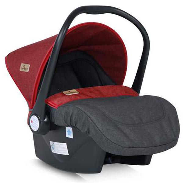Auto sedište za decu od 0-13kg Lifesaver Black&Red 10070301800 - ODDO igračke