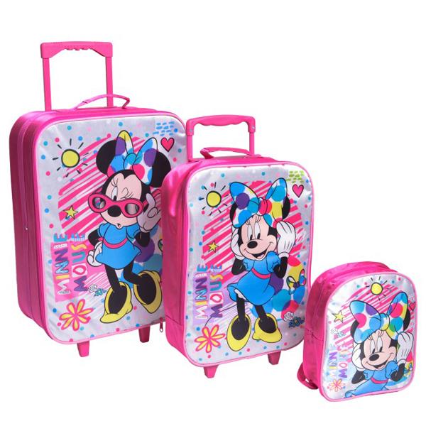 Koferi Minnie Mouse set koferi i ranac Colorful TB12 318343 - ODDO igračke