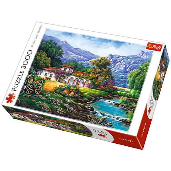 Trefl puzzla Hacienda by the stream 3000pcs 33051 - ODDO igračke