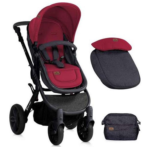Kolica Luna Black&Red Bertoni 10020801800 - ODDO igračke