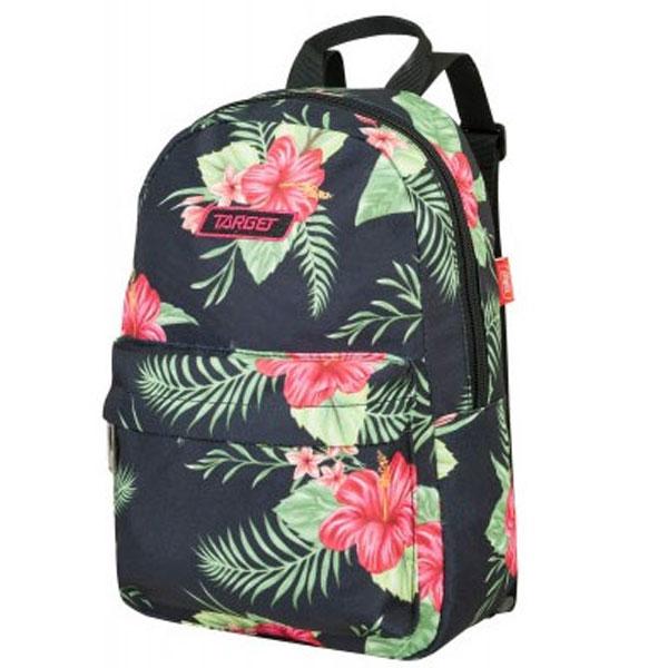 Ranac Target Tik Tak Floral Black 21942 - ODDO igračke