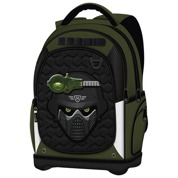 Ranac đački anatomski lagan Elite Force 18.Connect crno-zeleni 611375 - ODDO igračke