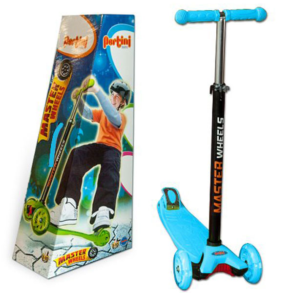 Trotinet Master Wheels plavi P-0282 - ODDO igračke