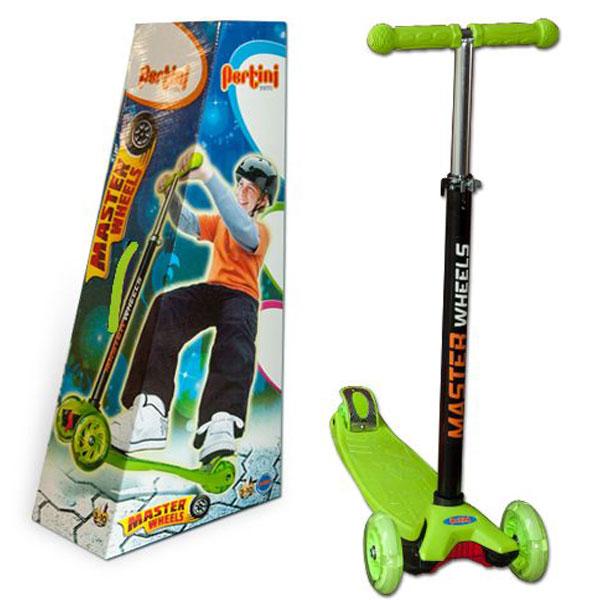 Trotinet Master Wheels zeleni P-0282 - ODDO igračke