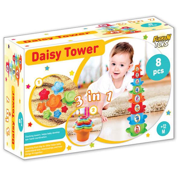 Set za bebe kula od cveća 3 u 1 FR55771 - ODDO igračke