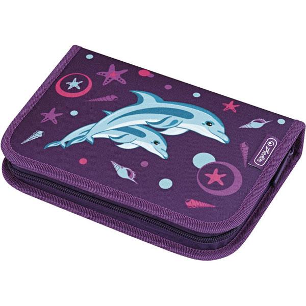 Pernica Herlitz puna 1zip 2preklopa Dolphin 50008360 - ODDO igračke