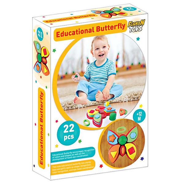 Set edukativni za bebe leptir FR55795 - ODDO igračke