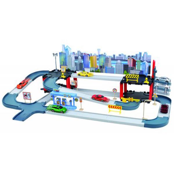 Garaža Dyna City 55pcs Multilevel Motor Max 25/78012 - ODDO igračke