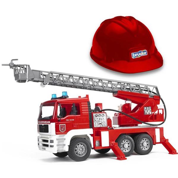 Vatrogasni kamion sa šlemom MAN TGA Bruder 019815  - ODDO igračke