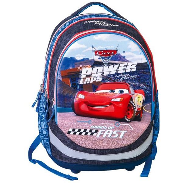 Školski ranac anatomski Seven Cars Power laps 324405 - ODDO igračke