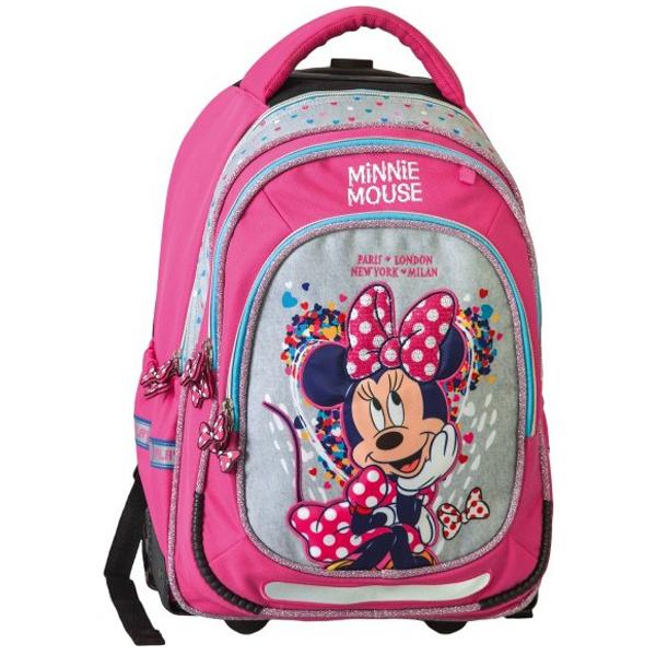 Trolley školski ranac sa točkićima Minnie Mouse Fashion 318007 - ODDO igračke