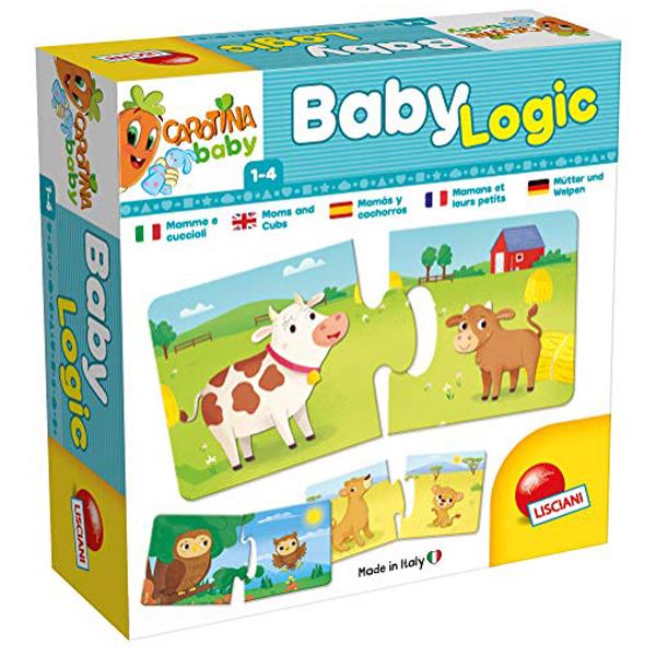Carotina Edukativna slagalica Mama i beba Lisciani 58495 - ODDO igračke