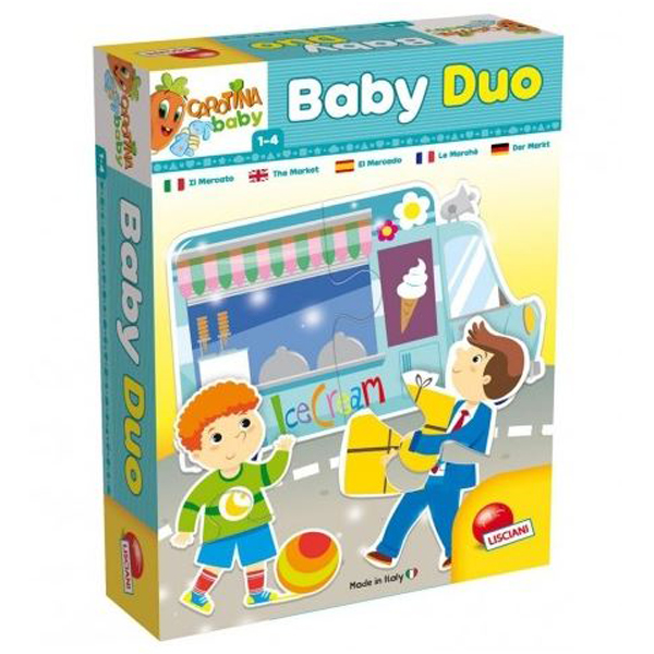 Carotina Edukativna slagalica Baby Duo Market 65448 - ODDO igračke