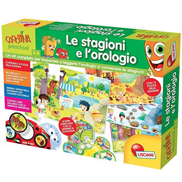 Carotina edukativna igra Maxi Godisnja Doba na engleskom jeziku EN66162 - ODDO igračke
