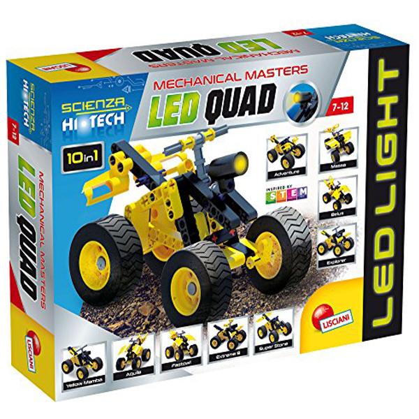 HI-Tec Nauka edukativna igra konstruktor LED QUAD vozilo 65875 - ODDO igračke