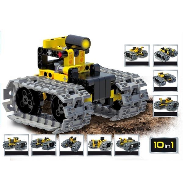 HI-Tec Nauka edukativna igra konstruktor LED TRACTOR vozilo 66124 - ODDO igračke