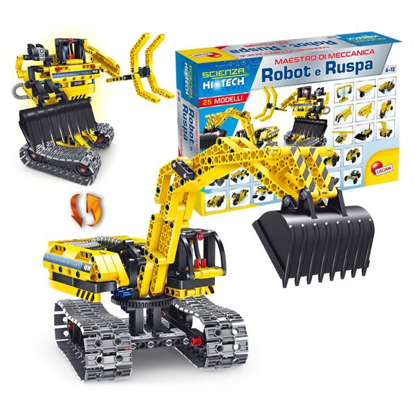 HI-Tec Nauka edukativna igra konstruktor Robot-Bager vozilo 66513 - ODDO igračke
