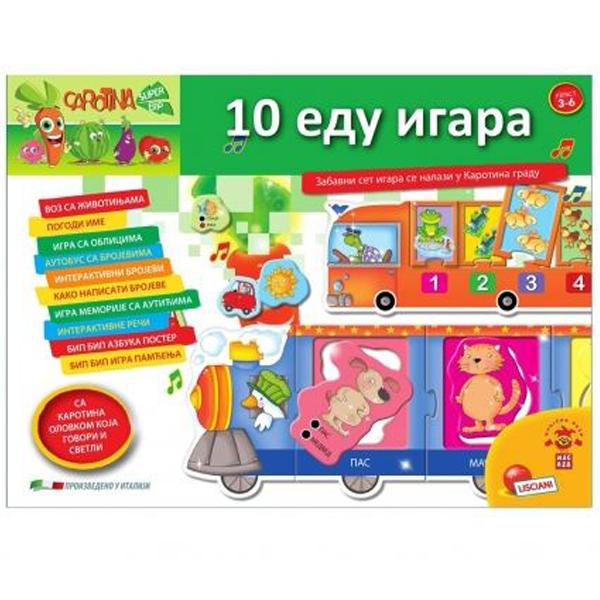 Carotina SR Edukativna igra 10 Edu Igara RS67428 - ODDO igračke