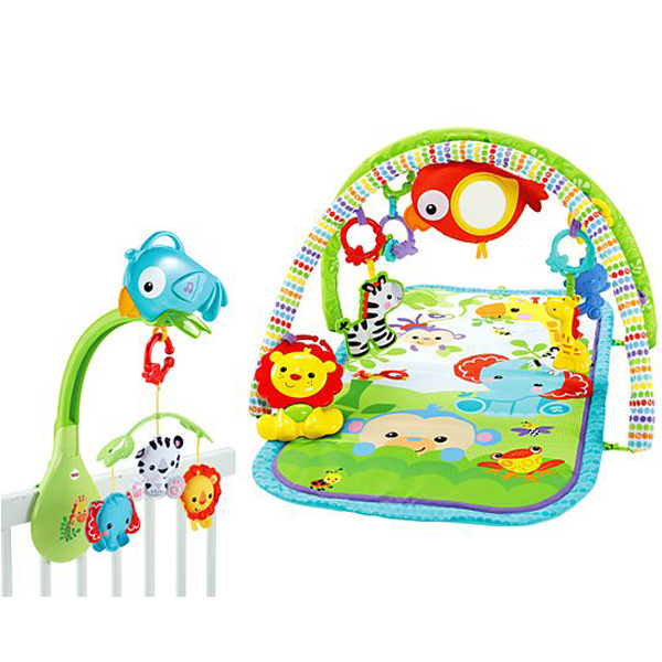 Fisher Price baby gym CLR-3197-FO FBH65 - ODDO igračke