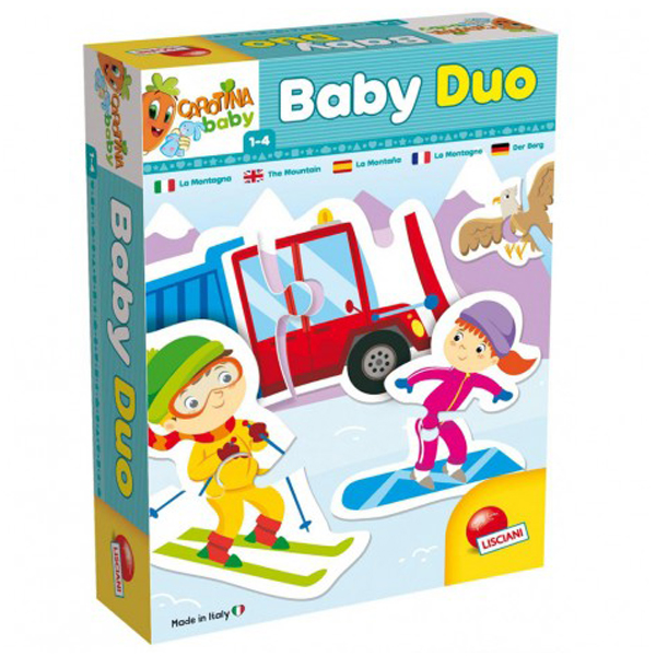 Carotina Edukativna slagalica Baby Duo Planina 65431 - ODDO igračke