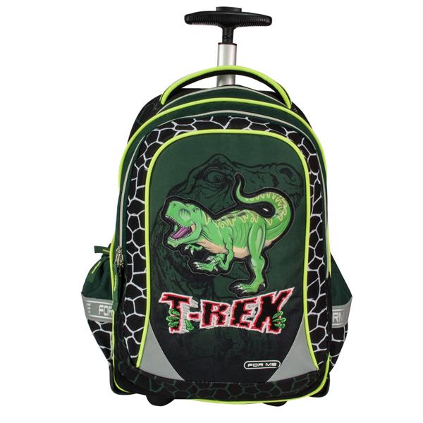 Školski ranac anatomski For Me T-Rex na točkiće FTRO160101 - ODDO igračke