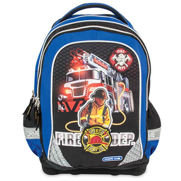 Školski ranac anatomski Ergo-teck For Me Fire Department FET160310 - ODDO igračke
