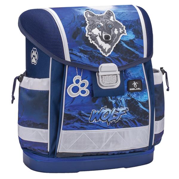 Školske torbe Belmil Classy 403-13 Lumi wolf Anatomske - ODDO igračke