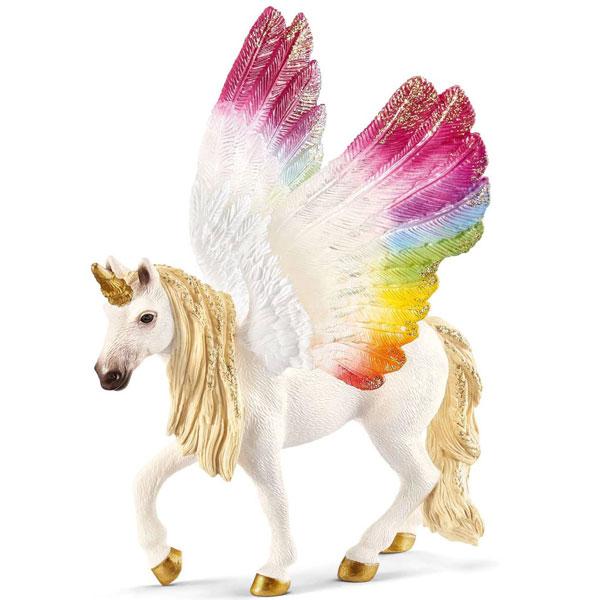 Schleich Bayala Pegaz sa krilima duginih boja 70576 - ODDO igračke