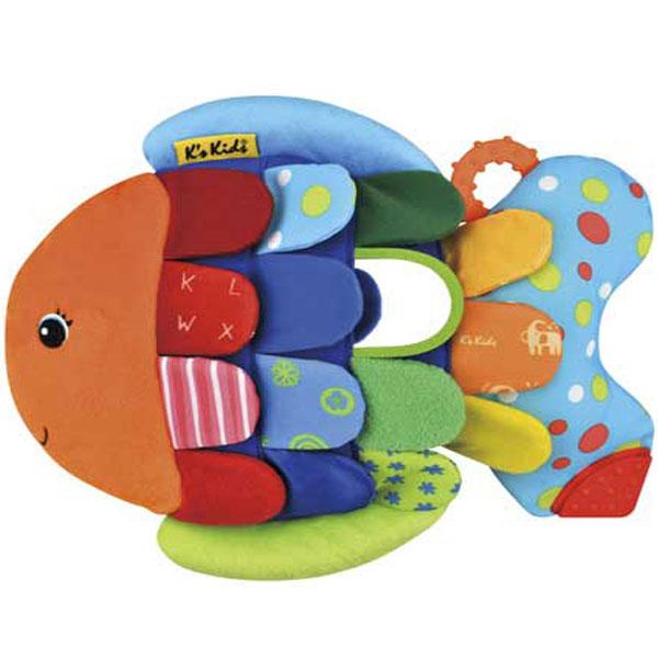 Plišana igračka Riba u boji KA10653-GB - ODDO igračke