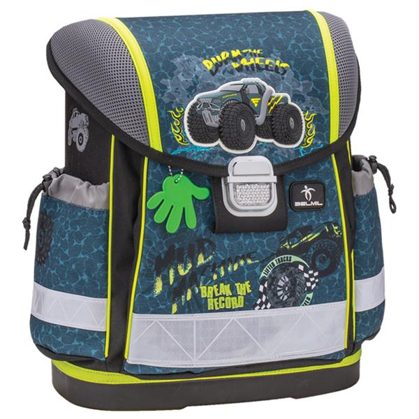 Školske torbe Belmil Classy 403-13 Mud machine Anatomska - ODDO igračke