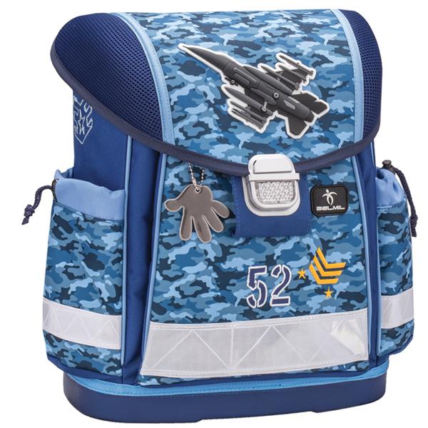 Školske torbe Belmil Classy 403-13 Sky Anatomske - ODDO igračke
