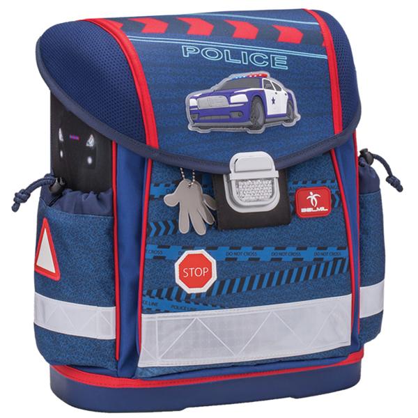 Školske torbe Belmil Classy 403-13 Police anatomske - ODDO igračke