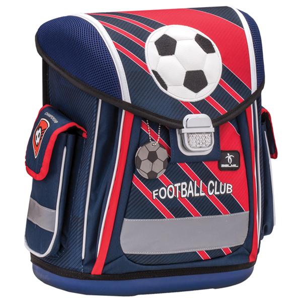 Školske torbe Belmil Sporty 404-5 Football Club Red anatomske - ODDO igračke