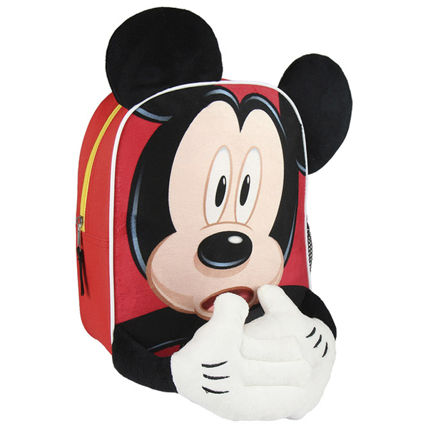 Ranac manji Mickey Kids Character Cerda crveni 2100002202 - ODDO igračke