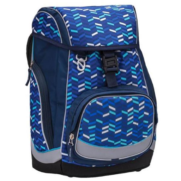 Školske torbe Belmil Comfy 405-11 Blue mix Anatomske - ODDO igračke