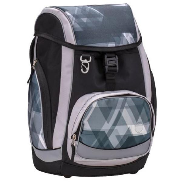 Školske torbe Belmil Comfy 405-11 Simple grey and blue Anatomske - ODDO igračke