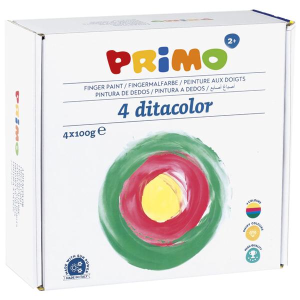 Boja tempera za prste 100ml Primo pk4 CMP 224TD100S4 - ODDO igračke