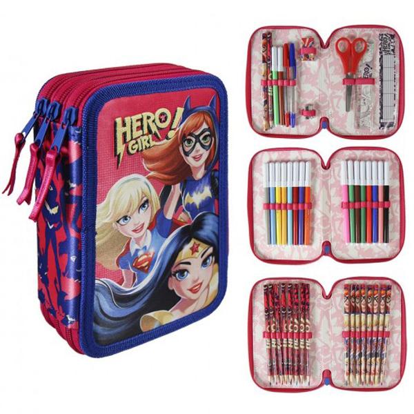Pernica Cerda Super Herogirls puna 3zipa 2700000196 - ODDO igračke