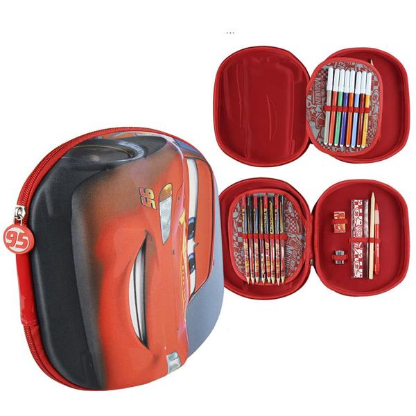 Pernica Cerda vrećica/oblik 3D Cars 3 2700000230 crvena - ODDO igračke