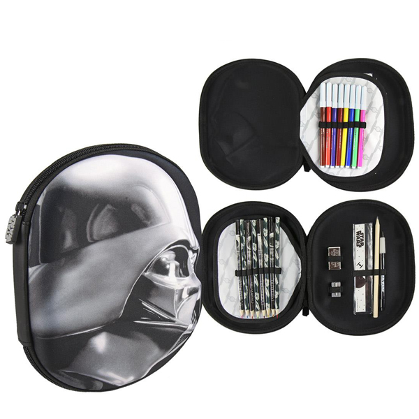 Pernica Cerda vrećica/oblik 3D Star Wars crna 2700000214 - ODDO igračke