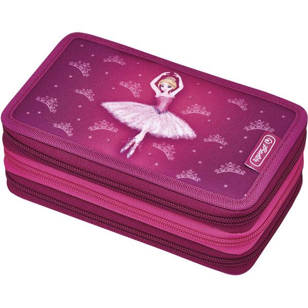 Pernica Herlitz puna 3zipa 3preklopa Ballerina 50008537 - ODDO igračke