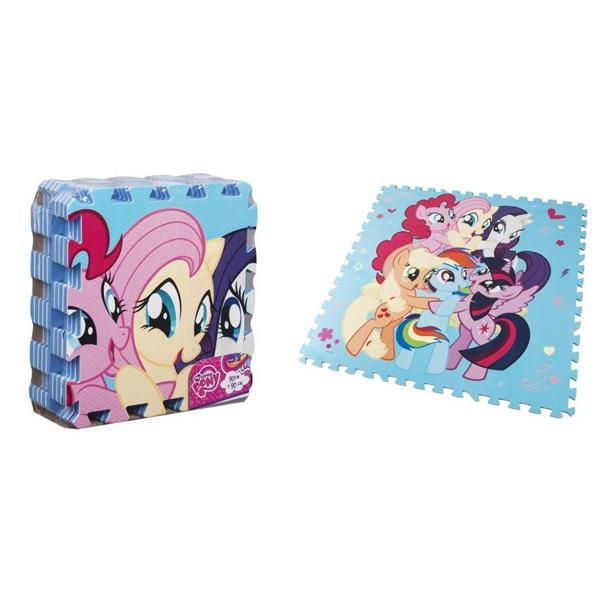 Podne puzzle My Little Pony 90x90cm 9pcs - ODDO igračke
