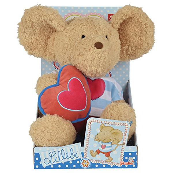 Pliš miš 35cm sa srcem 109247635 - ODDO igračke
