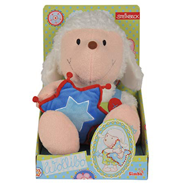 Pliš ovca Wollibo 35cm sa jastukom Simba 109247638 - ODDO igračke