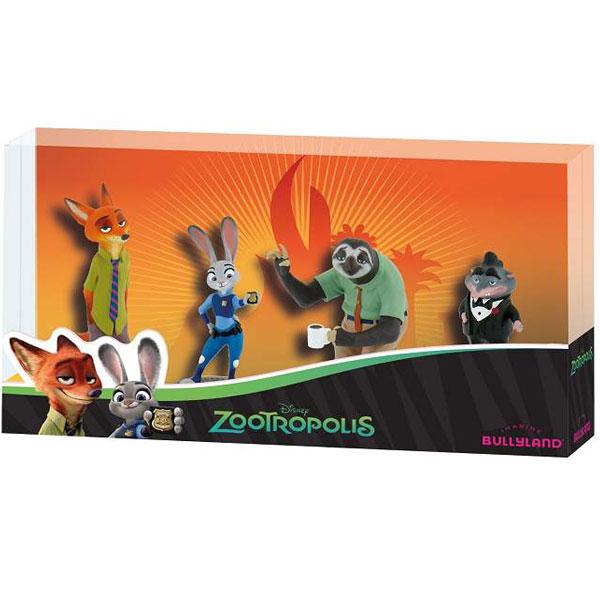 Gift Box (4 figurice) Likovi iz Crtanog Filma Zootropolis 13162 - ODDO igračke