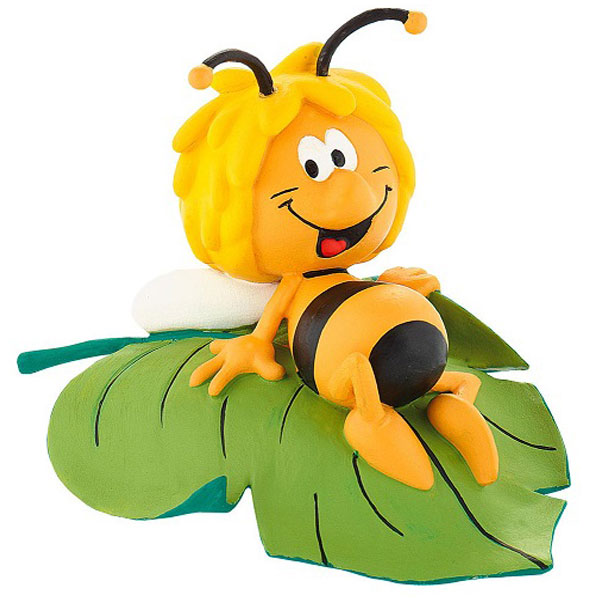 Bully Pčelica Maja Na Listu Lik iz Crtanog Filma 43450 c - ODDO igračke