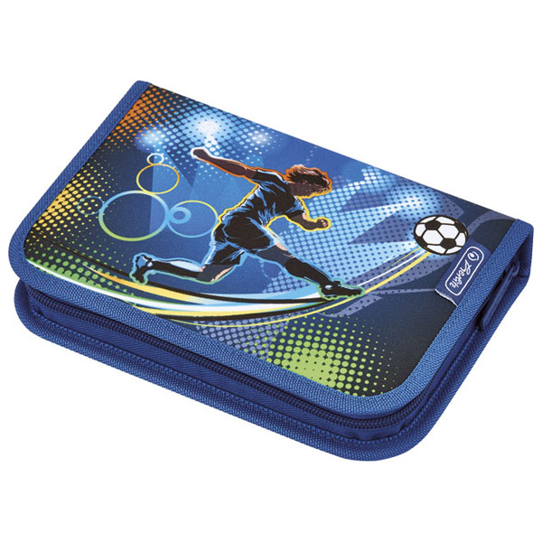 Pernica puna 1zip 2preklopa Soccer Herlitz 50008391 - ODDO igračke