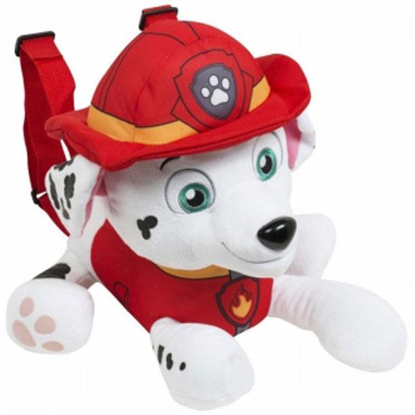 Plišani ranac Patrolne šape 24,5cm Disney Paw Patrol Marshal 33845 - ODDO igračke