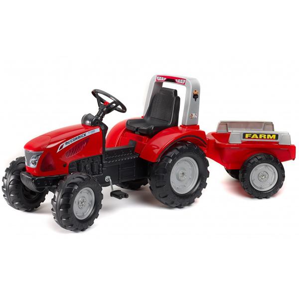 Traktor na pedale Falk MacCormick X7 sa prikolicom 3020ab - ODDO igračke